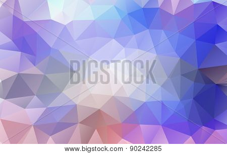 Low Poly Colorful Abstract Geometric Rumpled Triangular Style.vector Illustrator Graphic Design Back