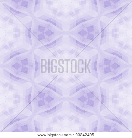 Seamless Mosaic Pattern Or Background In Violet