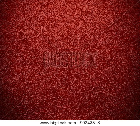 Chinese red color leather texture background