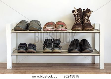 Shoe Shelf At Home