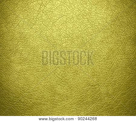 Citrine color leather texture background