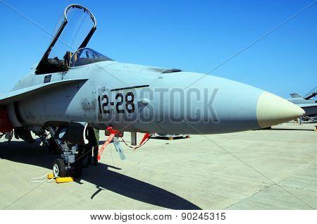F/A-18 Hornet Fighter Plane.