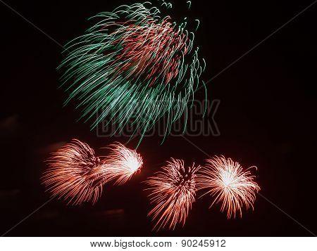 Bi-color Fireworks