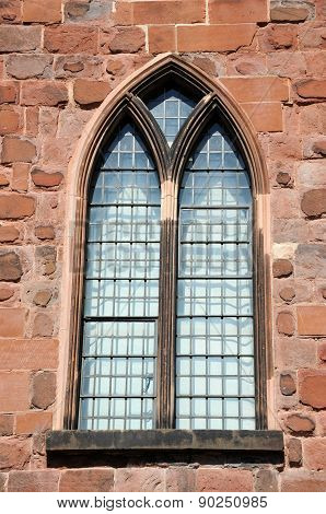 Shewsbury castle window.