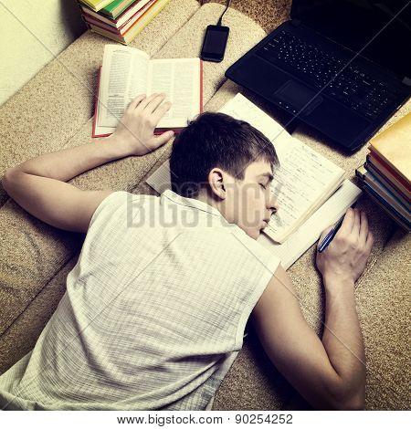 Teenager Sleep After Learning