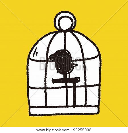 Doodle Birdcage