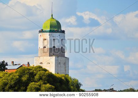 Russia, Vyborg. Ancient Fortress.