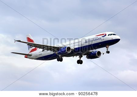 British Airways Airbus A321