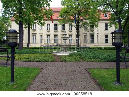 Biederman Palace in Lodz.