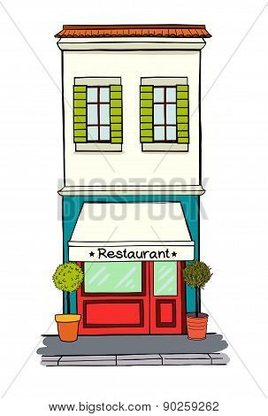 House With Restaurant