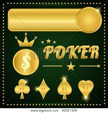 Gold Poker Items