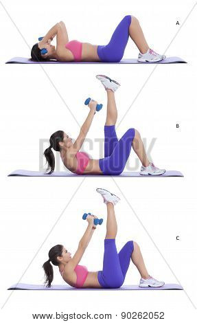 Chest Press- Leg Up