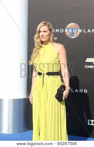LOS ANGELES - MAY 9:  Lindsay Vonn at the
