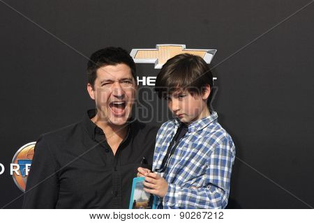 LOS ANGELES - MAY 9:  Ken Marino, Riley Ken'ichi Marino at the