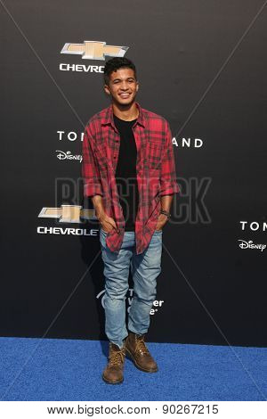 LOS ANGELES - MAY 9:  Jordan Fisher at the