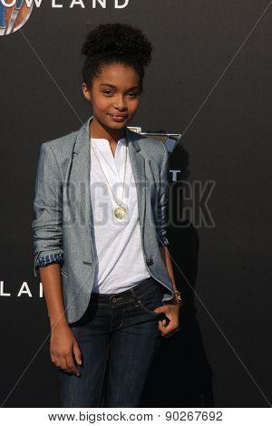 LOS ANGELES - MAY 9:  Yara Shahidi at the