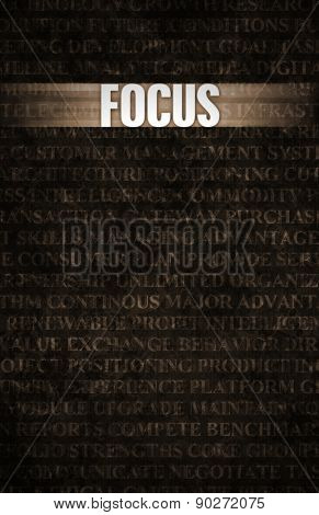 Focus in Business as Motivation in Stone Wall