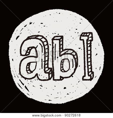 Type Abc Doodle