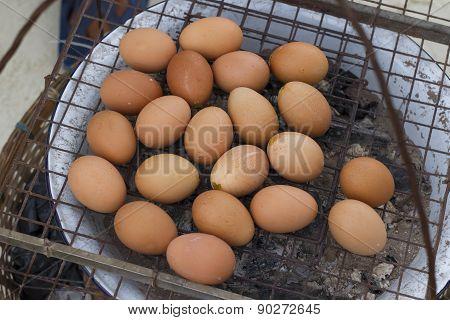 Egg grilled
