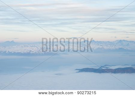andes mountains and sky