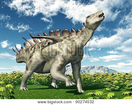 Dinosaur Huayangosaurus
