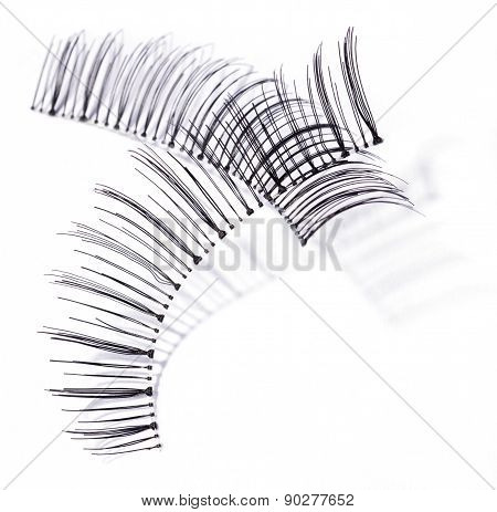 False Black Lashes