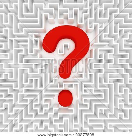 Confusion, lost in a maze