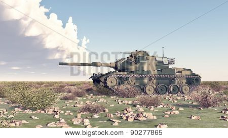 American main battle tank