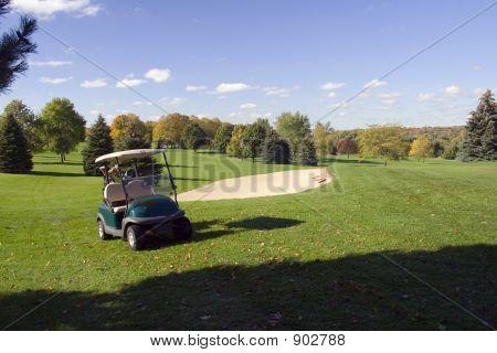 Golf Cart - Fairway - Sandtrap