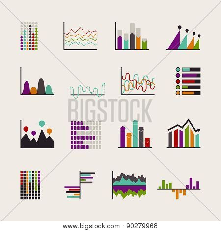 Set schedules for business illustrations.