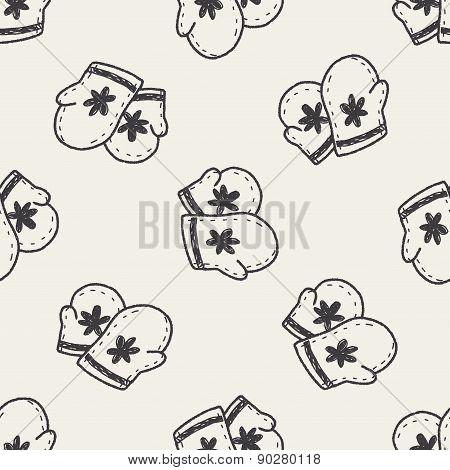 Winter Gloves Doodle