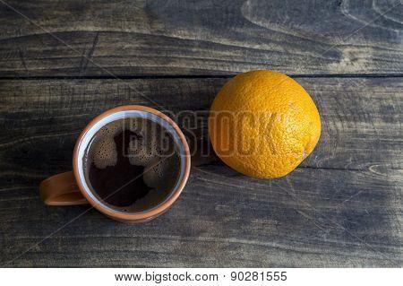Orange & Coffee