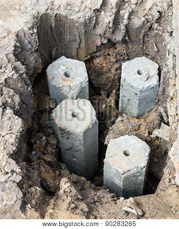 Concrete Stake