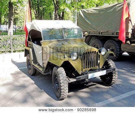 Soviet Jeep Gaz-67
