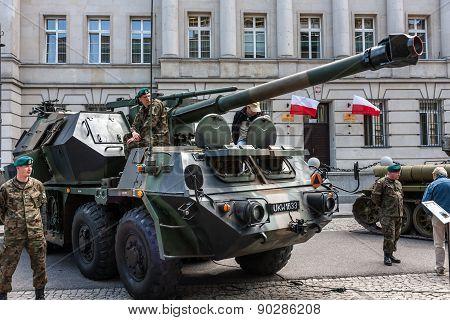 Dana 152 Gun Howitzer