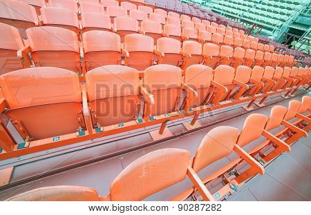 Empty Chairs  Before The Musical Concert