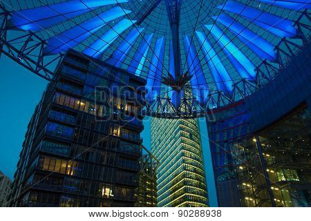 Berlin - Potsdamer Platz modern buildings