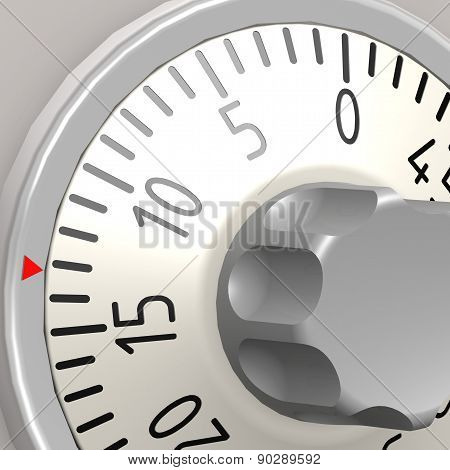 Dial Safe Lock