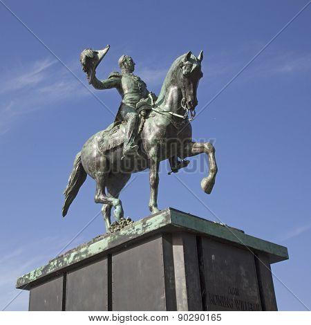 Statue Of William Ii In The Hague
