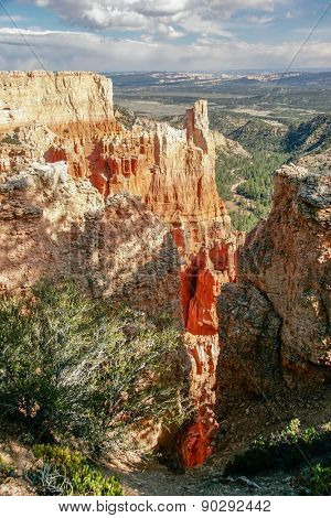 Picture of Bryce National Park. Located in the Southwestern United States, Utah.