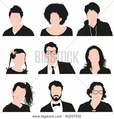 Set People Icons