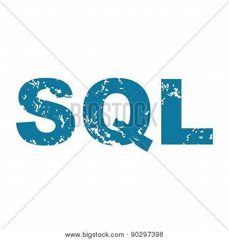 Grunge SQL icon