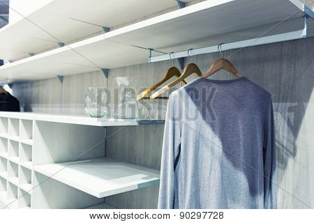 White dressing room