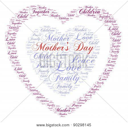 Mother's Day - Word Cloud