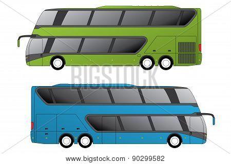Double Decker Coaches