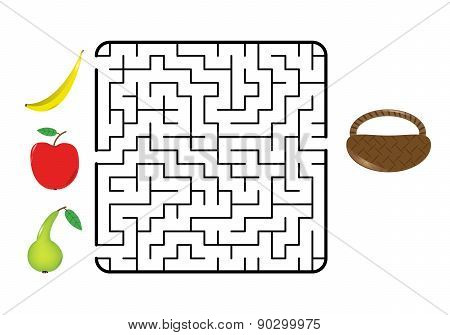 Fruit Maze