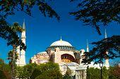 image of constantinople  - Aya Sophia Camii in Istanbul - JPG