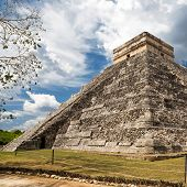 stock photo of yucatan  - El Castillo  - JPG