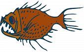 stock photo of predator  - Underwater World - JPG
