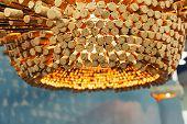 foto of chandelier  - Modern chandelier - JPG